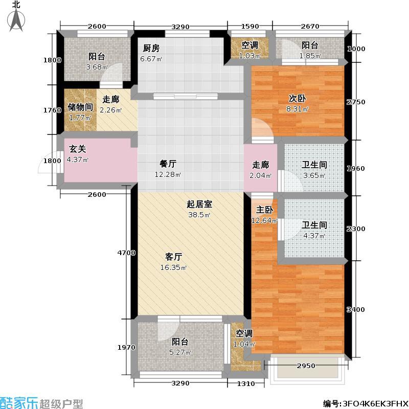万科金色城品万科金色城品户型图(16/32张)户型10室