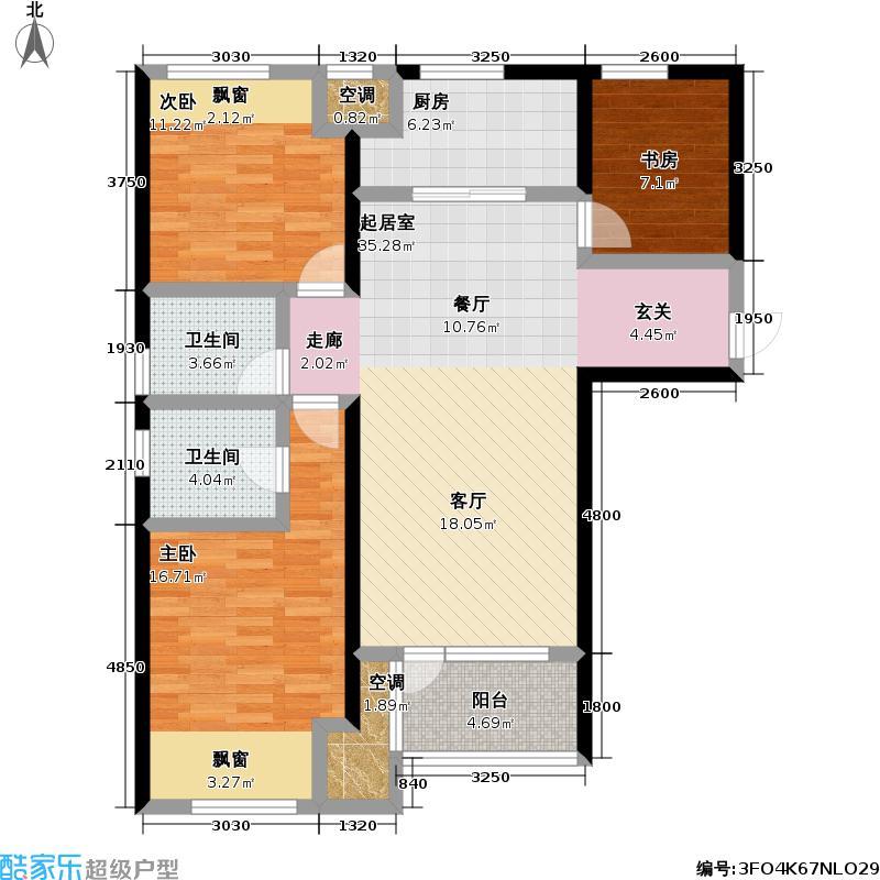 万科金色城品万科金色城品户型图3F户型(32/32张)户型10室