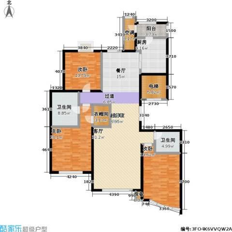 枫桥湾名邸3室0厅2卫1厨217.00㎡户型图