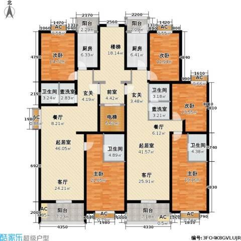 栖美国际5室0厅4卫2厨358.00㎡户型图