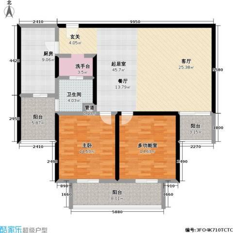 三宝花苑1室0厅1卫1厨120.00㎡户型图