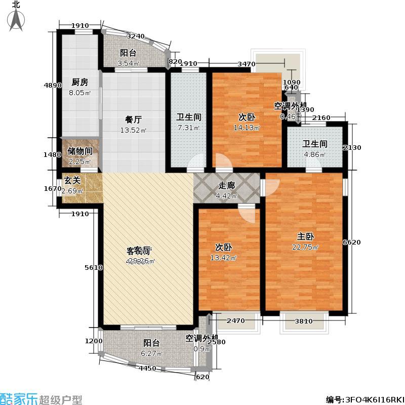 东新大厦156.22㎡房型: 三房; 面积段: 156.22 -156.22 平方米; 户型