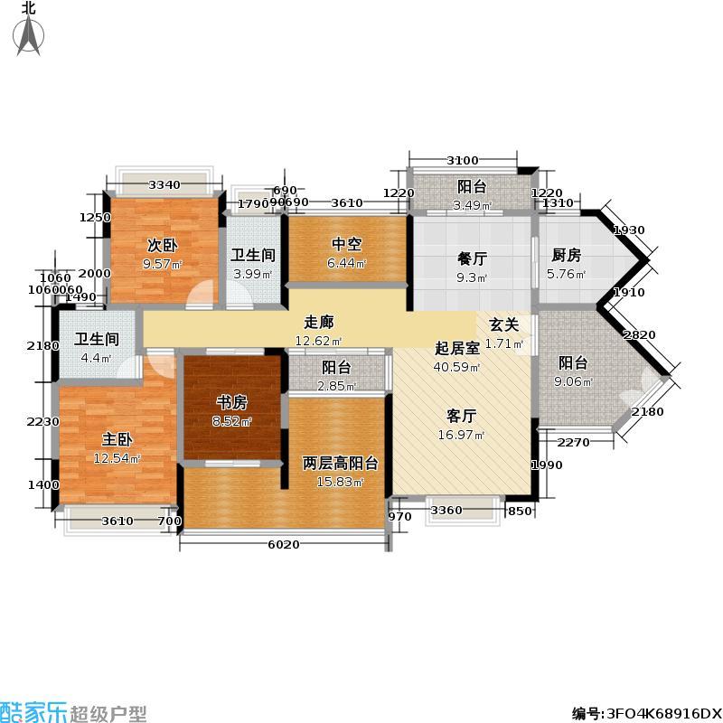 熙龙湾二期熙龙湾二期户型图两厅三房两卫(4/21张)户型10室