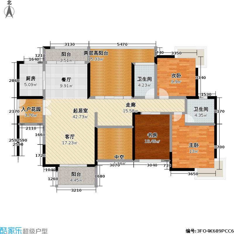 熙龙湾二期熙龙湾二期户型图5栋C座\03(68/120张)户型10室