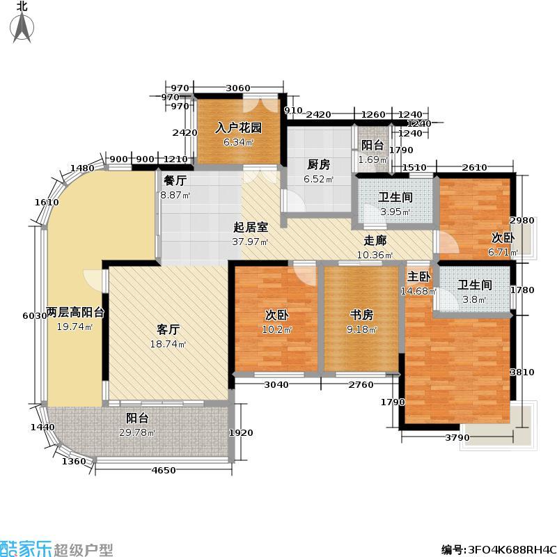 熙龙湾二期熙龙湾二期户型图5栋C座\01(66/120张)户型10室