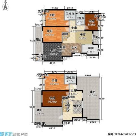 金田雅居5室0厅3卫1厨322.00㎡户型图