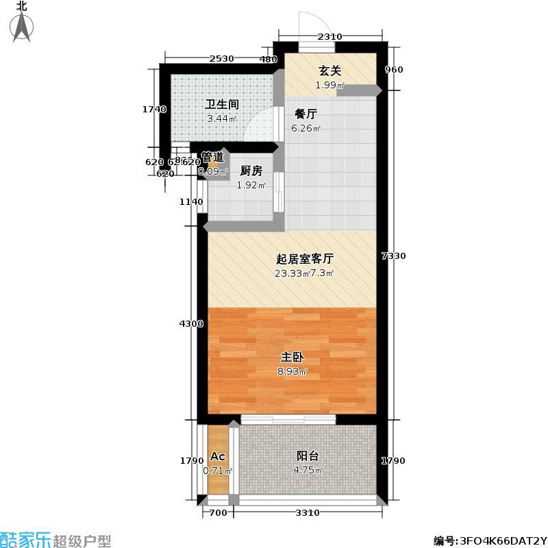 新城长岛新城长岛户型图41平米(35/57张)户型10室