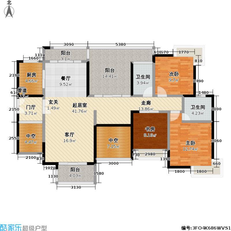 熙龙湾二期熙龙湾二期户型图两厅三房两卫(5/21张)户型10室