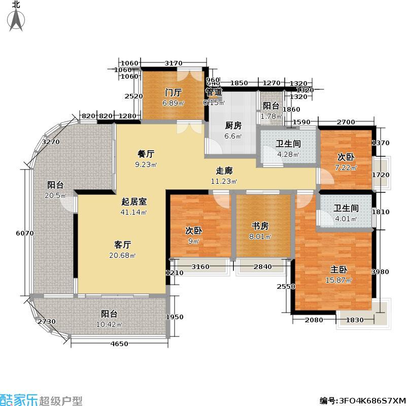 熙龙湾二期熙龙湾二期户型图两厅四房两卫(7/28张)户型10室
