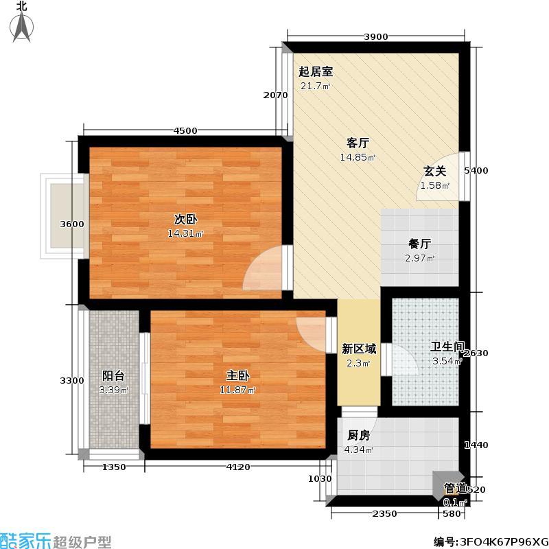 光华世家80.00㎡光华世家户型图81平米(1/2张)户型10室