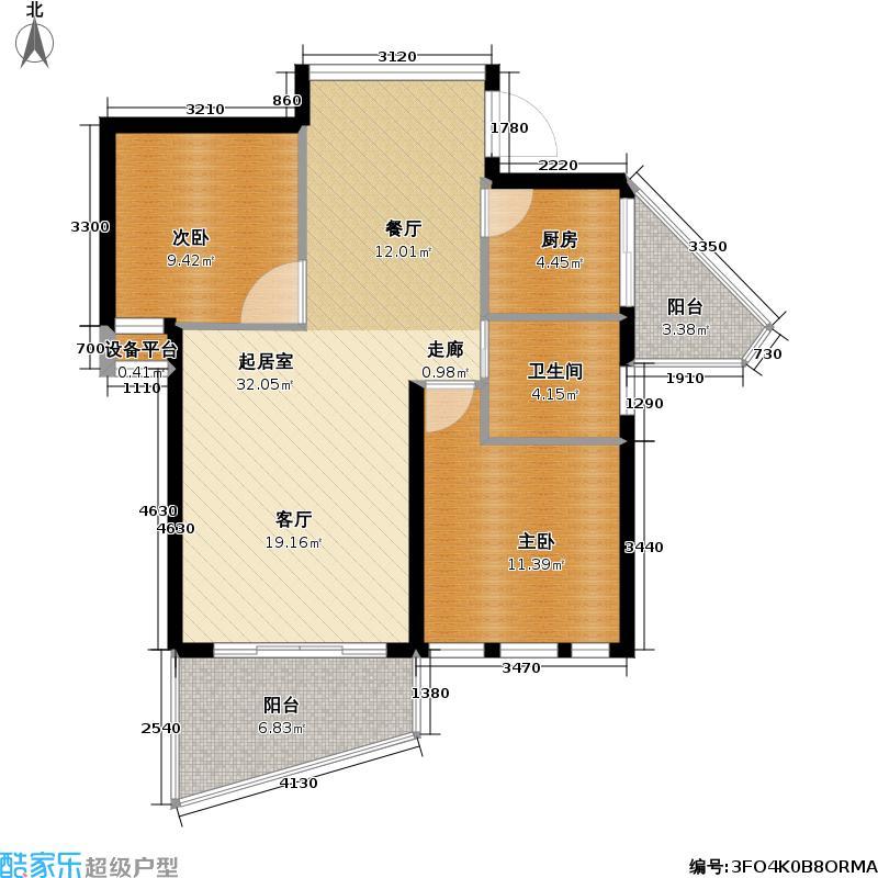 MOMA・西西里67.79㎡洋房户型