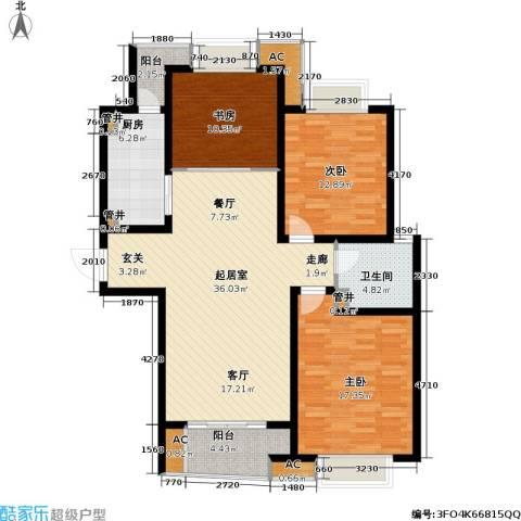凯尔枫尚3室0厅1卫1厨112.00㎡户型图