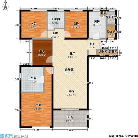 莱蒙时代4室0厅2卫1厨167.00㎡户型图