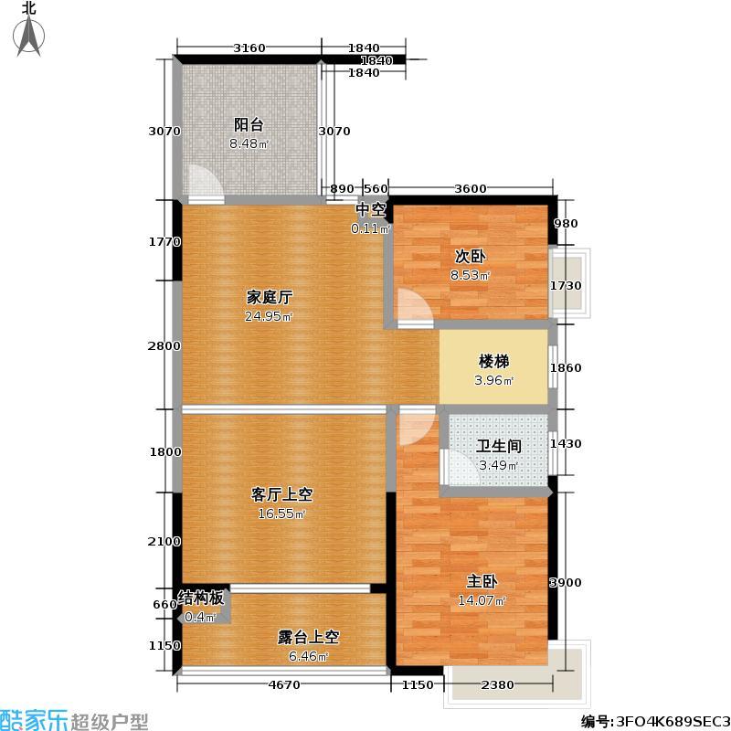熙龙湾二期熙龙湾二期户型图两房一厅一卫(10/15张)户型10室
