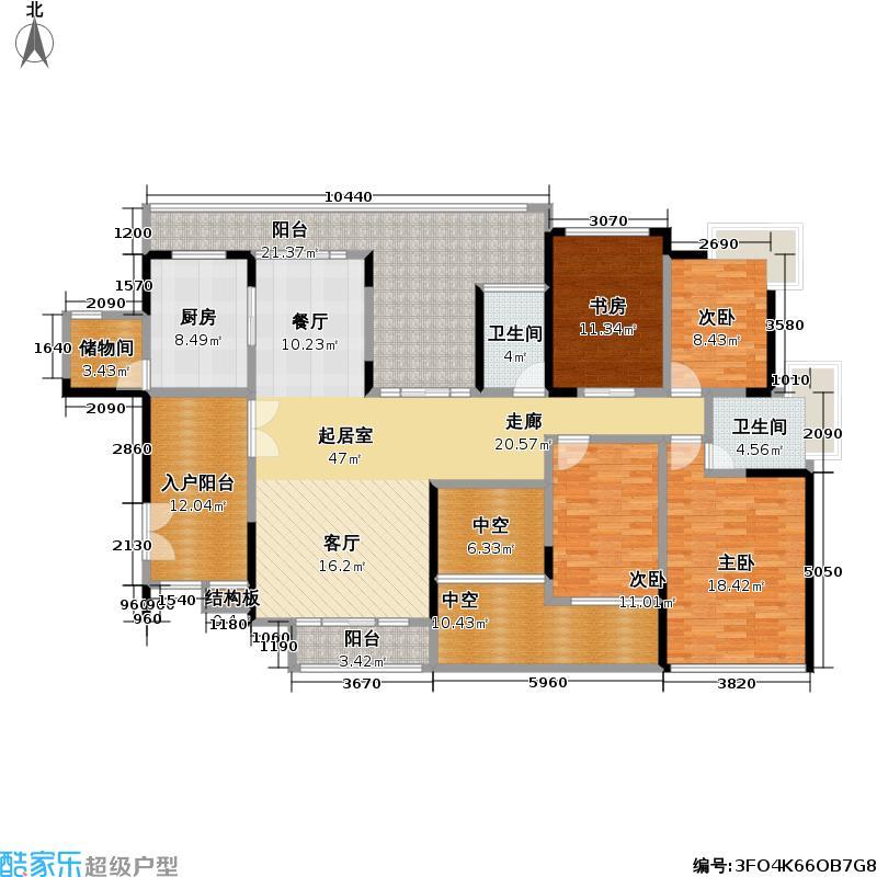 熙龙湾二期熙龙湾二期户型图四房两厅两卫(28/28张)户型10室