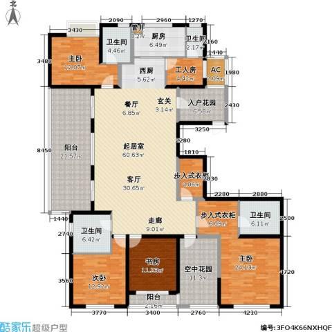 莱蒙时代4室0厅4卫1厨225.00㎡户型图
