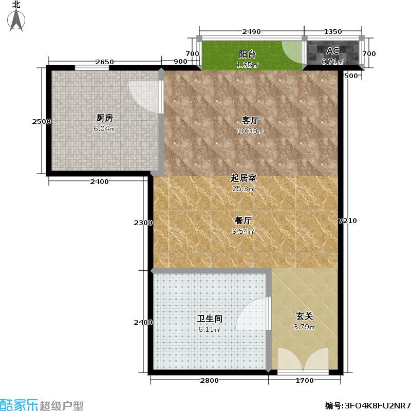 星源国际公寓C01户型