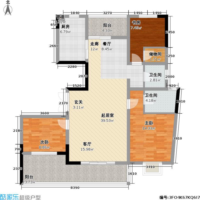 光华世家110.00㎡光华世家户型图139平米(1/3张)户型10室
