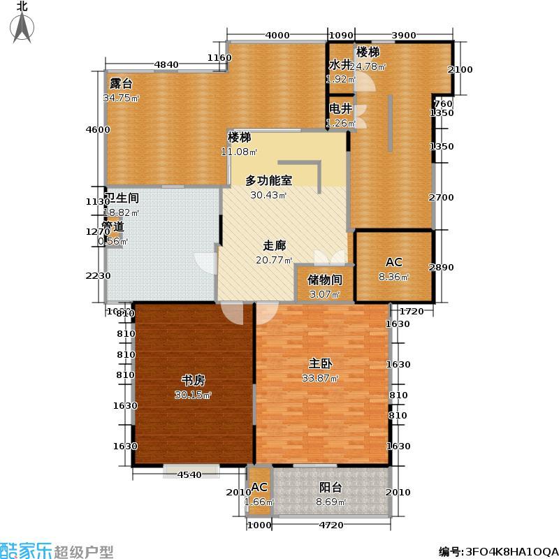 东方家园二期205.52㎡房型: 复式; 面积段: 205.52 -211.75 平方米; 户型