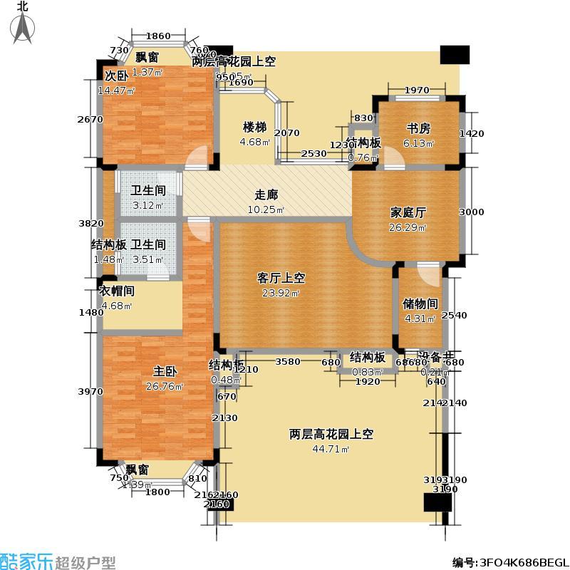 熙龙湾二期熙龙湾二期户型图一厅三房两卫(7/21张)户型10室