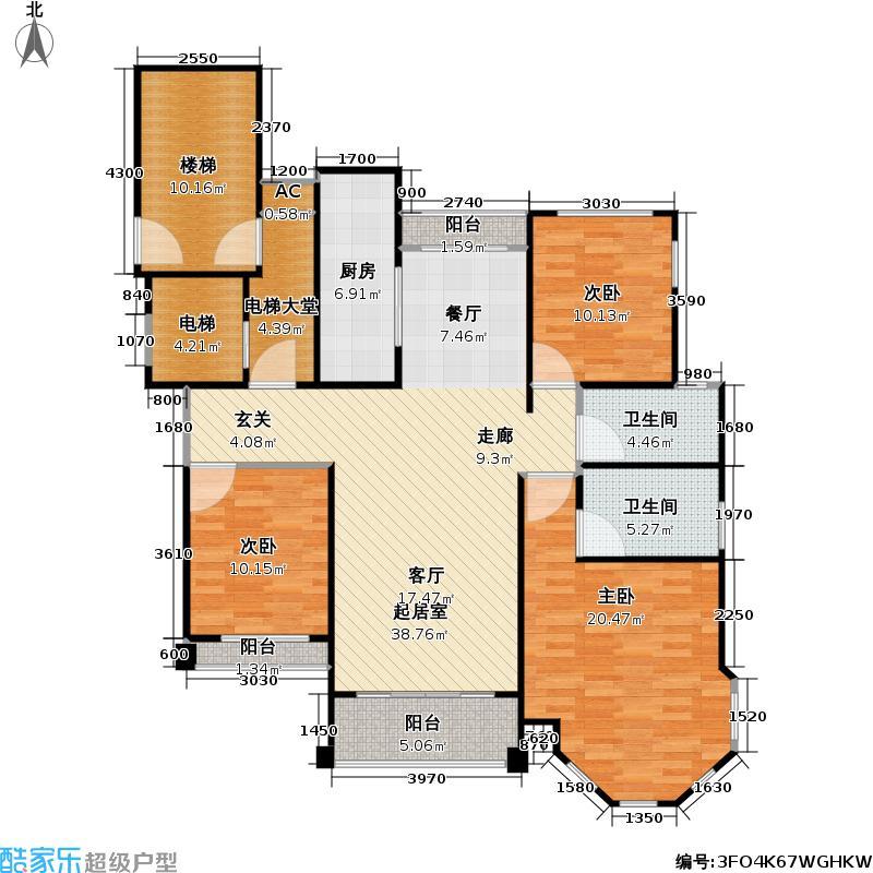 颐和星苑颐和星苑户型图F户型(3/21张)户型10室