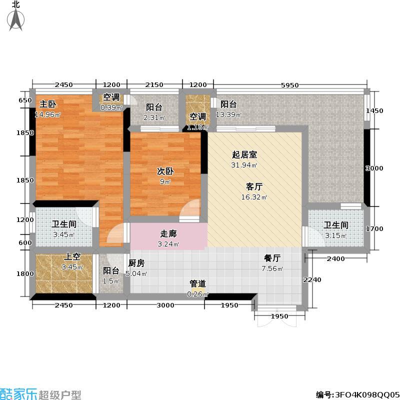 宗申・动力城动力城81.54㎡B23-6号房户型