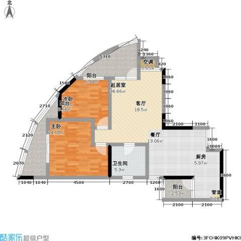 宗申・动力城 动力城2室0厅1卫0厨85.00㎡户型图