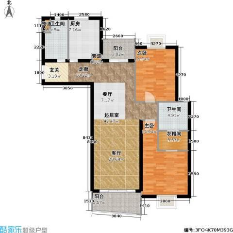 联洋年华2室0厅2卫1厨113.00㎡户型图