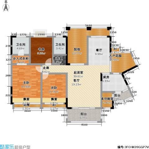 爱加・西西里 爱加 西西里3室0厅2卫1厨189.00㎡户型图