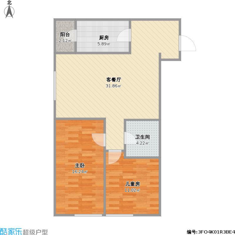 汇雄时代时代公馆A-03户型