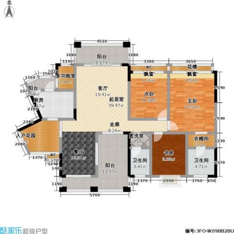 爱加・西西里 爱加 西西里3室0厅2卫1厨129.33㎡户型图