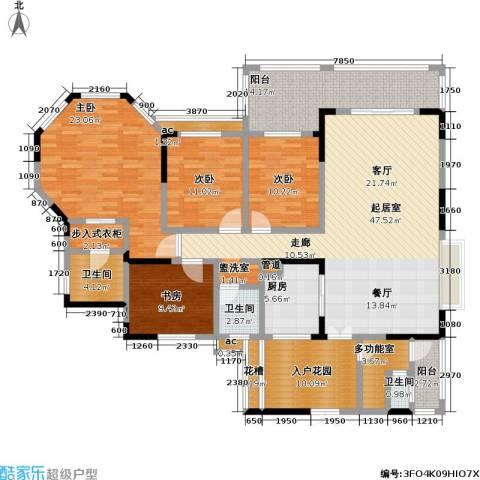 爱加・西西里 爱加 西西里4室0厅3卫1厨218.00㎡户型图