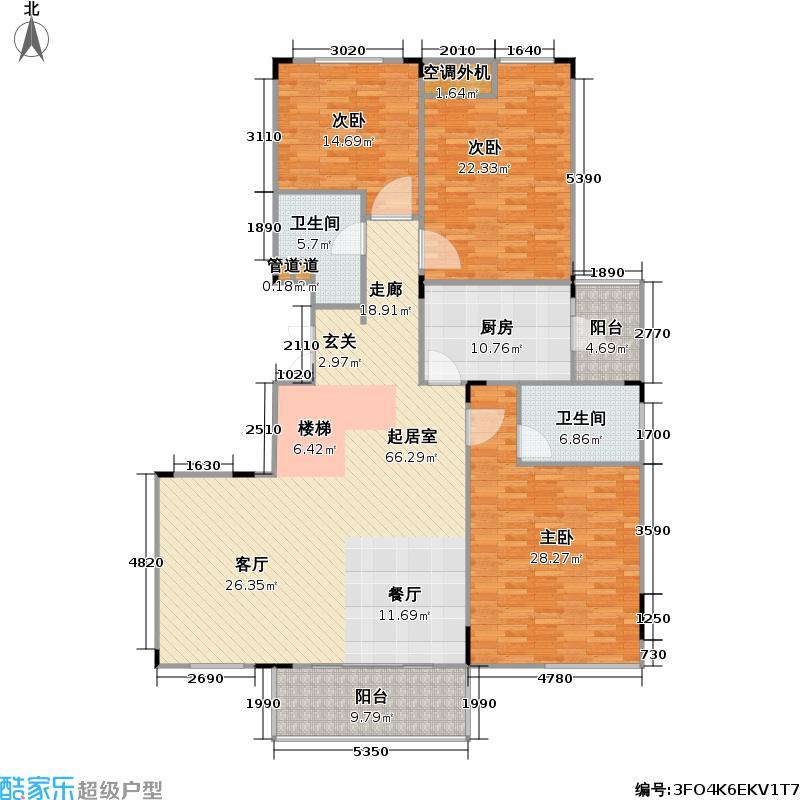 嘉宏七棠嘉宏七棠户型图嘉宏七棠B3户型下层(11/26张)户型10室