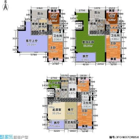 康城国际 中海康城花园6室0厅4卫1厨267.00㎡户型图