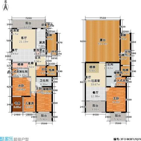 国展家园6室0厅4卫1厨321.33㎡户型图