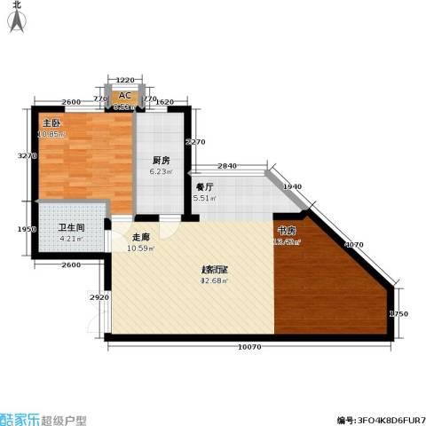 里外里公寓1室0厅1卫1厨89.00㎡户型图