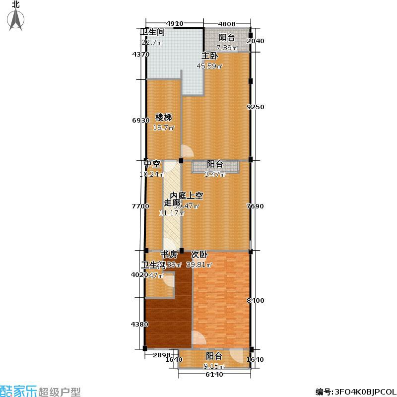 坤和・西溪里西溪里255.00㎡4、7、8号楼排屋二层户型