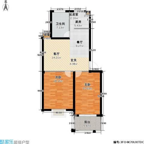 名门世家四期2室0厅1卫0厨113.00㎡户型图