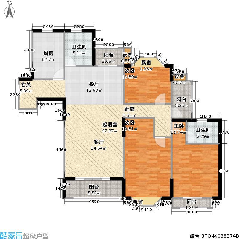 金芙世纪公寓房型户型