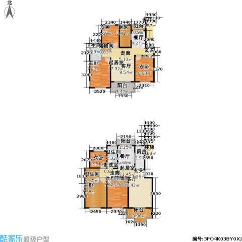 松江世纪新城6室0厅3卫2厨114.00㎡户型图