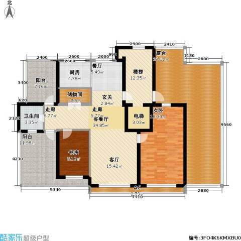 沈阳绿色家园2室1厅1卫1厨200.00㎡户型图