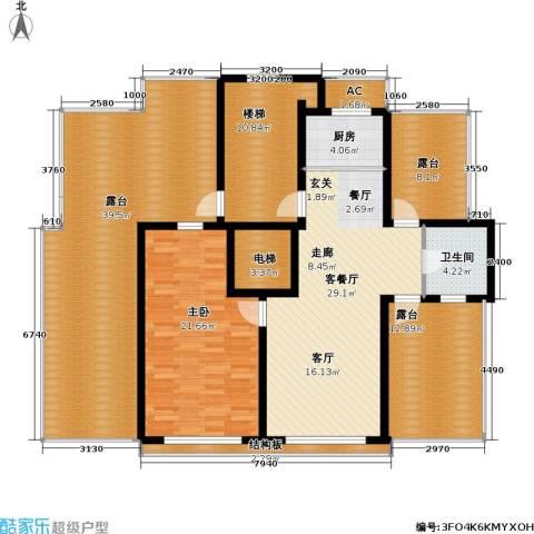 沈阳绿色家园1室1厅1卫1厨194.00㎡户型图