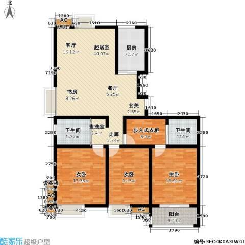 水岸人家3室0厅2卫1厨139.84㎡户型图