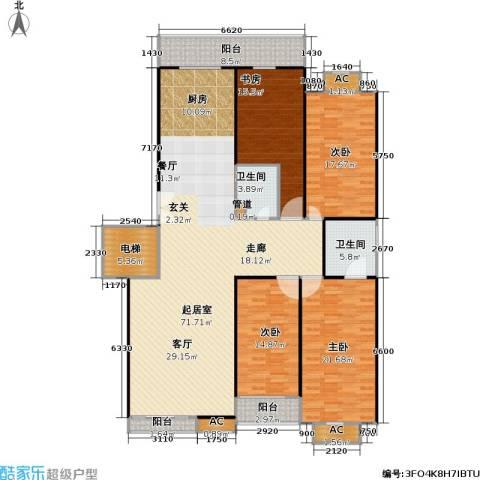 兴顺宝典4室0厅2卫0厨185.33㎡户型图