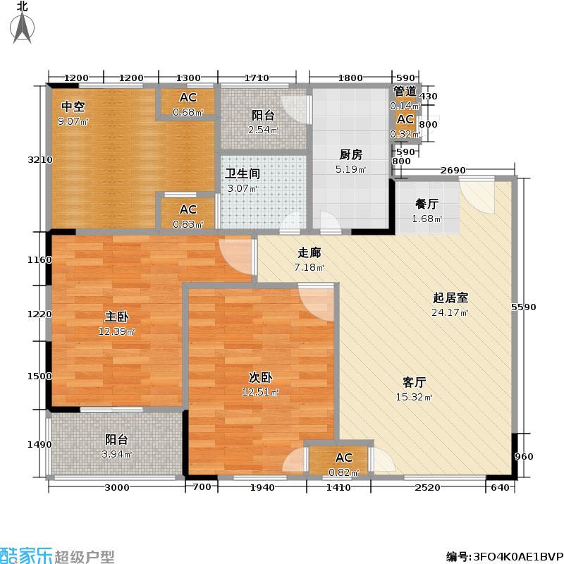 仁安・龙城国际仁安龙城龙城国际B2栋/F户型