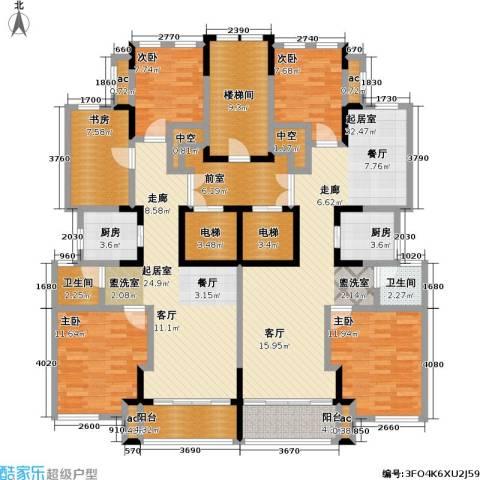 久事西郊花园5室0厅2卫2厨178.82㎡户型图