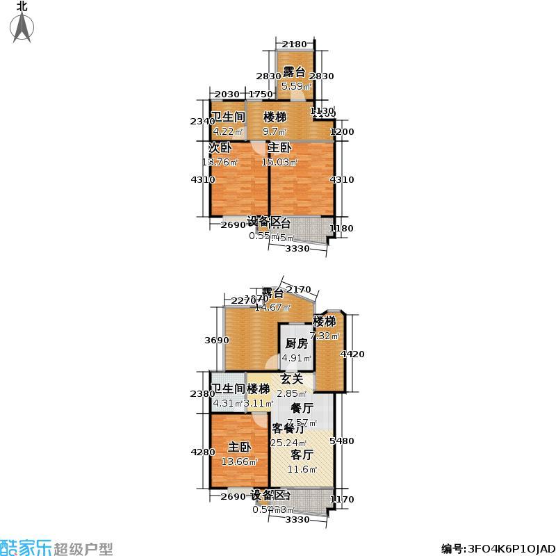 乾弘佳园139.60㎡房型: 复式; 面积段: 139.6 -139.6 平方米; 户型