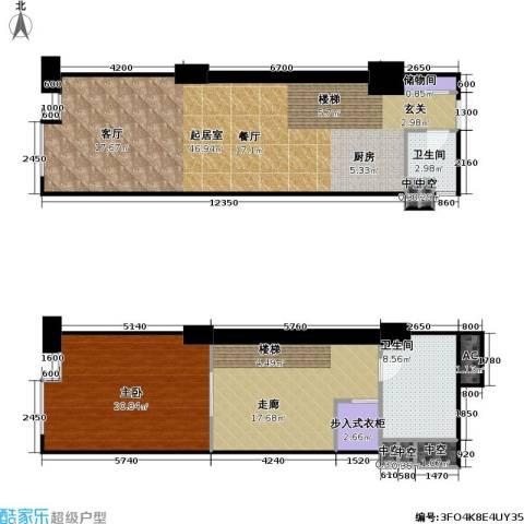 东阙都1室0厅2卫0厨104.05㎡户型图