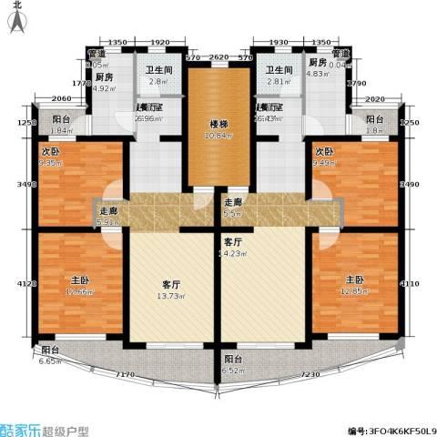 浦江花苑4室0厅2卫2厨139.93㎡户型图