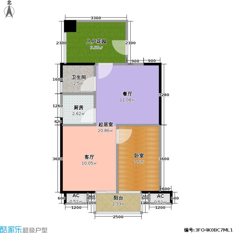 海HOUSE房型户型